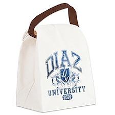 Diaz Last Name University Class o Canvas Lunch Bag