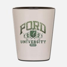 Ford Last name University Class of 2014 Shot Glass