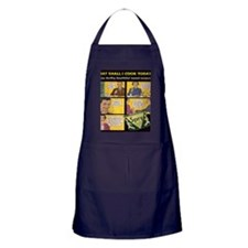 What Shall I Cook Today? Apron (dark)