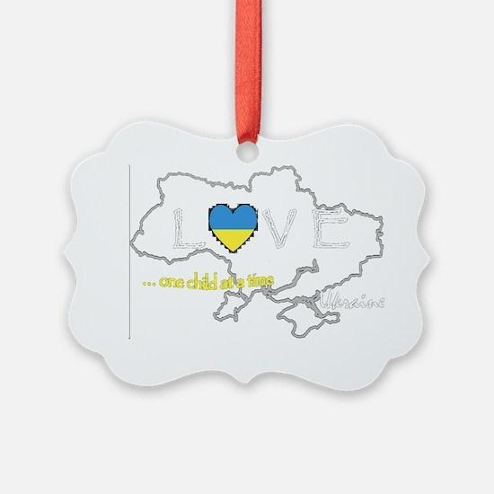 Love Ukraine...(D) Ornament