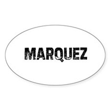 Marquez Oval Decal