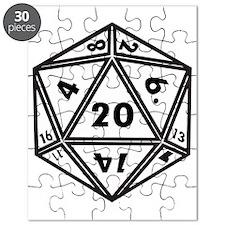 D20 White Puzzle