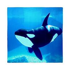 Killer Whale Queen Duvet