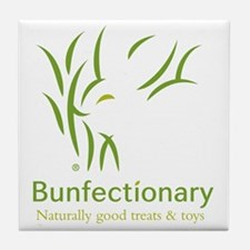 Bunfectionary logo tote Tile Coaster