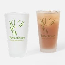 Bunfectionary logo tote Drinking Glass
