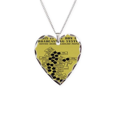 don lee stations Necklace Heart Charm