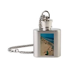 1962 Oceanside Beach Flask Necklace