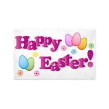 Happy Easter Bunny 3'x5' Area Rug