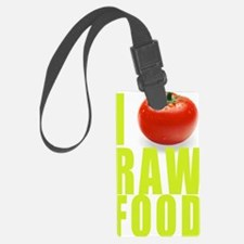 I tomato RAW FOOD Luggage Tag