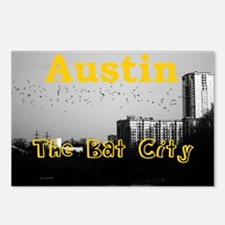 Austin_5x3rect_sticker_Ba Postcards (Package of 8)