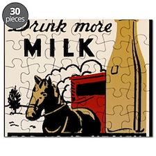 1935 Milk Ad Puzzle