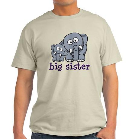 big sister elephant Light T-Shirt