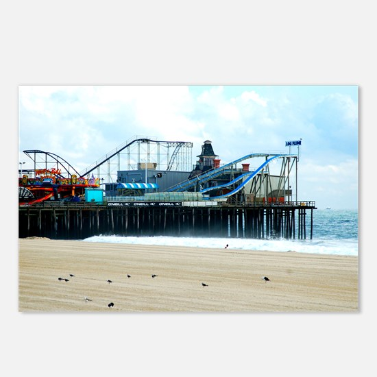 Jersey Shore Seaside Heig Postcards (Package of 8)