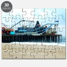 Jersey Shore Seaside Heights Boardwalk Coas Puzzle