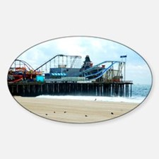 Jersey Shore Seaside Heights Boardw Decal