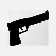 gun Throw Blanket