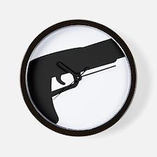 gun Wall Clock