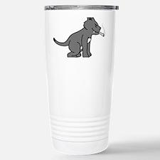 smoking_cat Stainless Steel Travel Mug