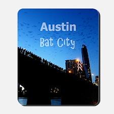 Austin_9x13.6_CongressAvenueBridgeBat Mousepad