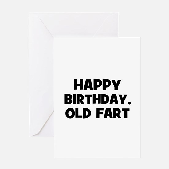 Old Fart Gifts Merchandise – Old Fart Birthday Cards