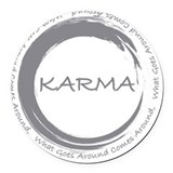Karma Round Car Magnets