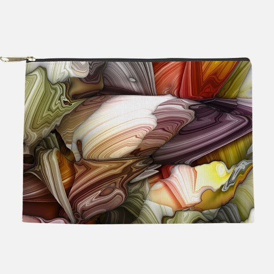 Colorful Abstract Makeup Pouch