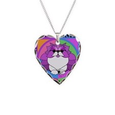 Persian Kitty Cat Graphics Necklace