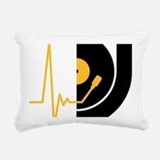 music_pulse_dj Rectangular Canvas Pillow