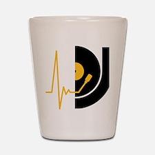 music_pulse_dj Shot Glass
