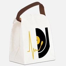 music_pulse_dj Canvas Lunch Bag