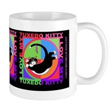 tuxedo kitty cat graphics  Mug