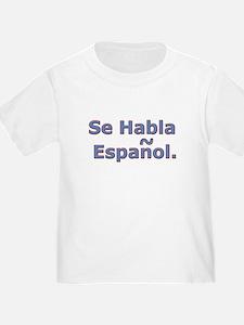 Se Habla Espanol. T