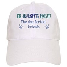 dog farted more dog breeds Baseball Cap