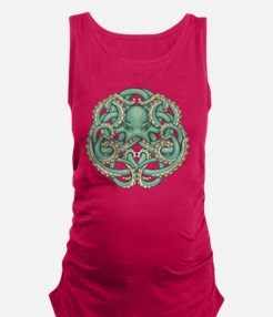 Octopus Emblem Maternity Tank Top