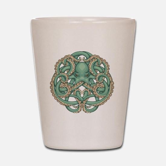 Octopus Emblem Shot Glass