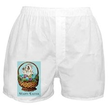 Easter Sealyham! Boxer Shorts