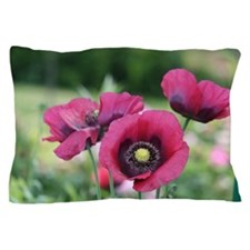 Monets Poppies Pillow Case