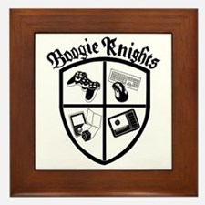 Boogie Knights - White Shirts Framed Tile