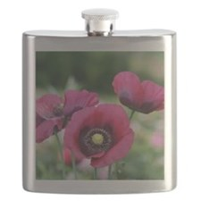 Monets Poppies Flask