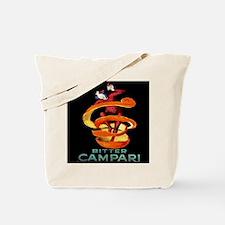 Viintage Cappiello Campari Shower Curtain Tote Bag