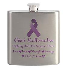 Chiari Malformation Awareness Flask