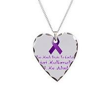 Chiari malformation Awareness Necklace