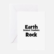 Earth Science Teachers Rock Greeting Cards (Packag