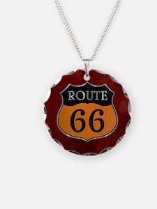 rt66-woodsteel-CRD2 Necklace