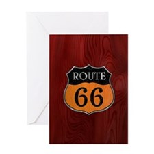 rt66-woodsteel-CRD2 Greeting Card