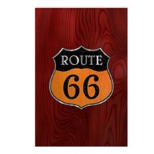 rt66-woodsteel-CRD2 Postcards (Package of 8)