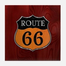 rt66-woodsteel-CRD2 Tile Coaster