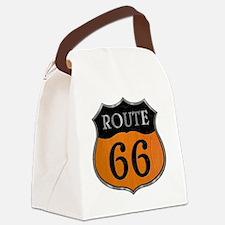 rt66-woodsteel-T Canvas Lunch Bag