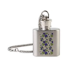 Daisies Flask Necklace