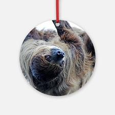 Sloth Kingsize Duvet Round Ornament